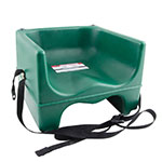 Cambro 200BCS519 Dual-Height Booster Seat with Strap - Green