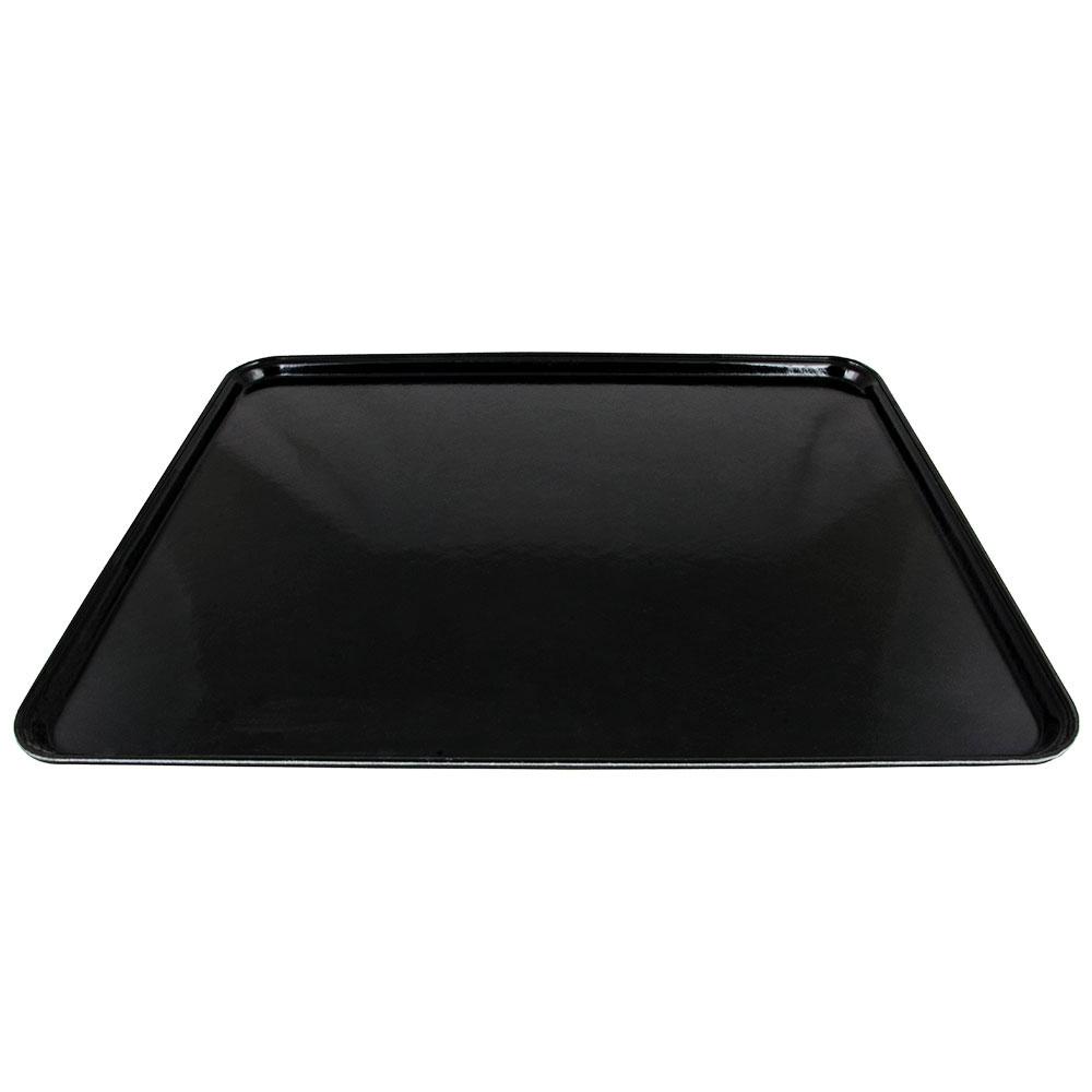 """Cambro 2025110 Rectangular Camtray - 20-3/4x25-9/16"""" Black"""