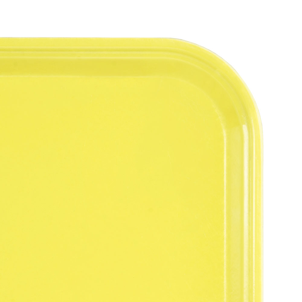 "Cambro 2025MT145 Rectangular Market Display Tray - 20-3/4x25-9/16x13/16"" Yellow"