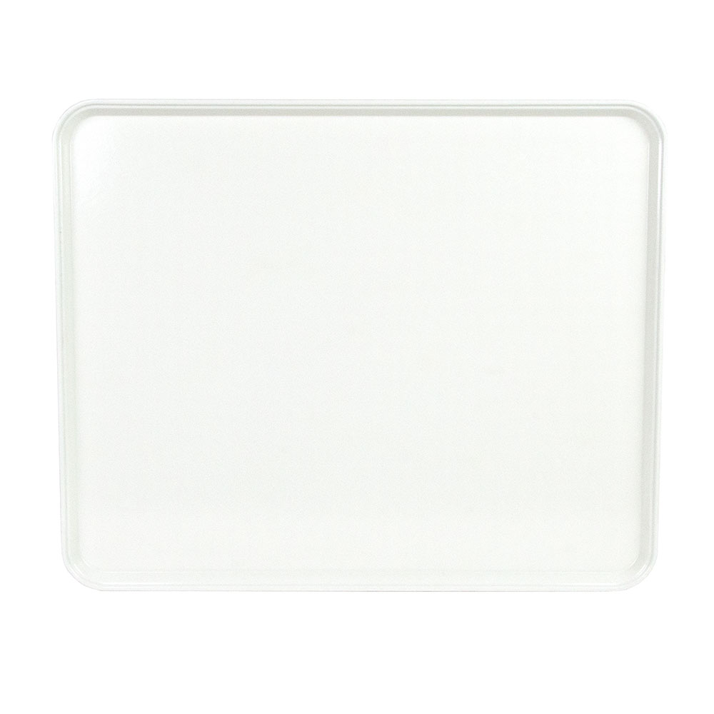 "Cambro 2025MT148 Rectangular Market Display Tray - 20-3/4x25-9/16x13/16"" White"