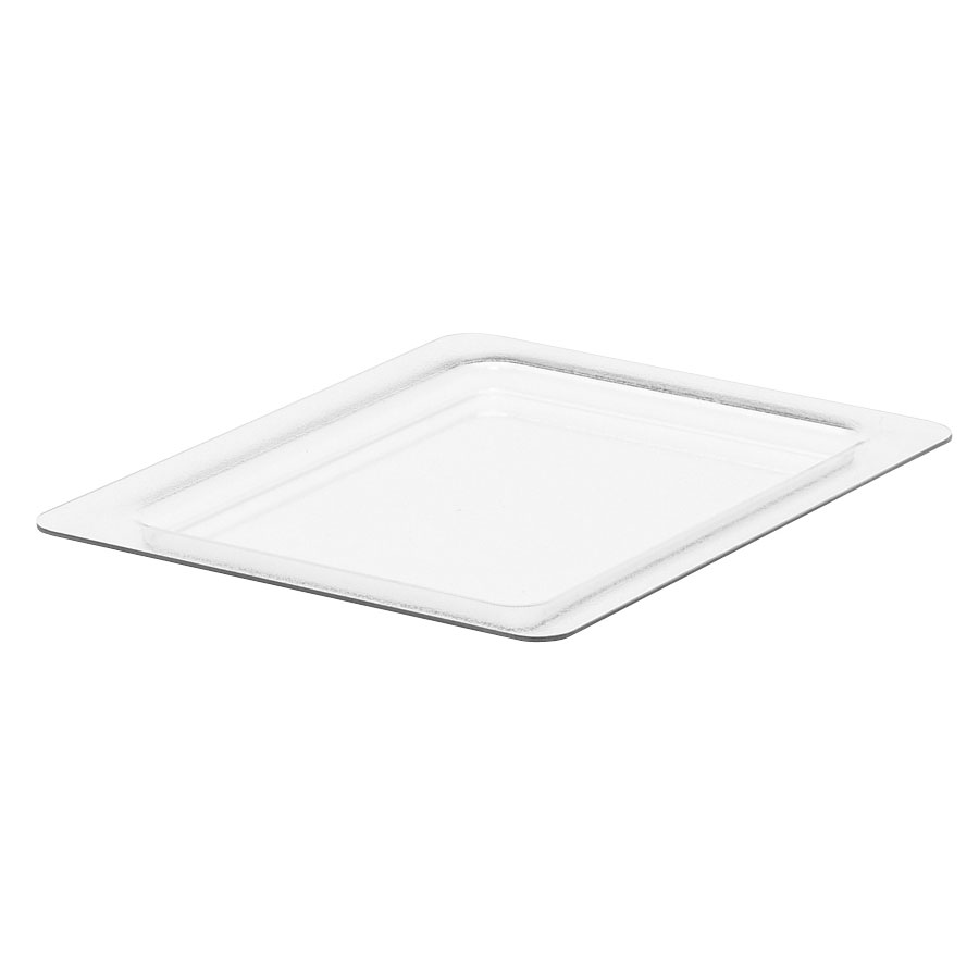 Cambro 20CFC135 ColdFest Food Pan Cover - Half Size, Flat, Clear