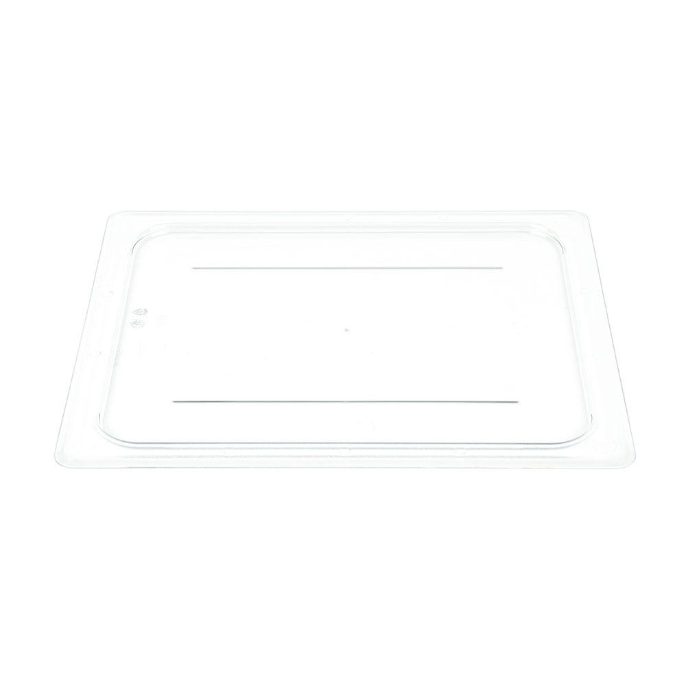Cambro 20CWC135 Camwear Food Pan Cover - Half Size, Flat, Clear