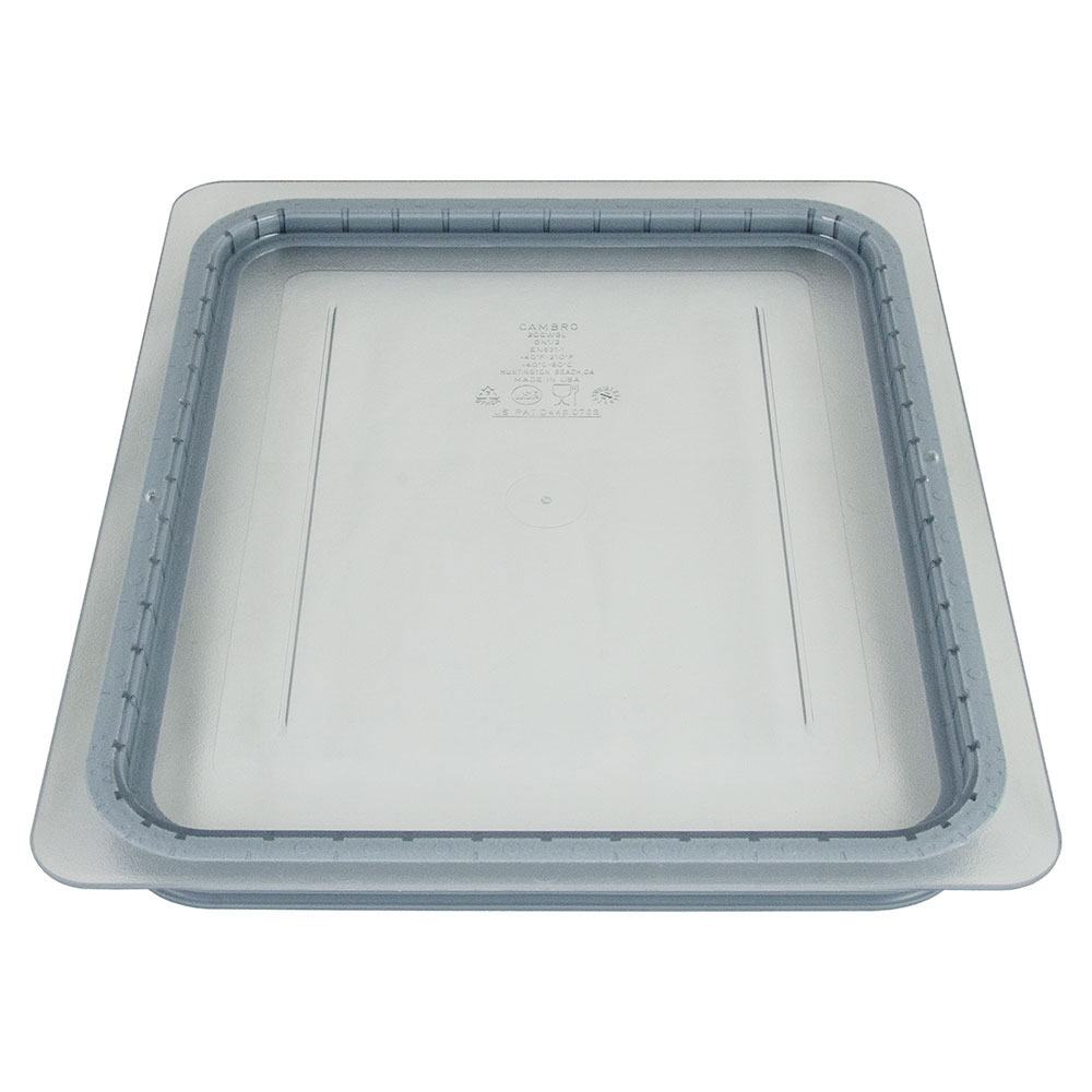 Cambro 20CWGL135 GripLid Food Pan Cover - Half Size, Clear
