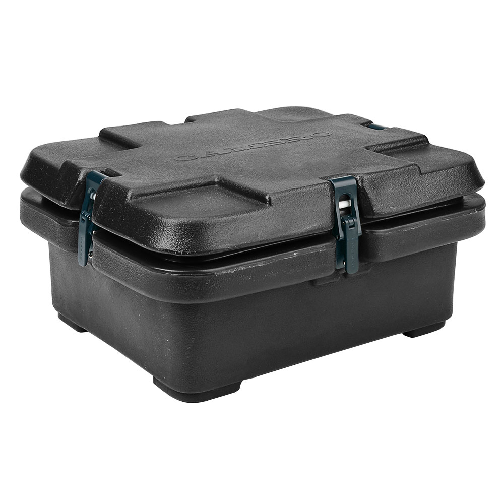 Cambro 240MPC110 Camcarrier Food Pan Carrier - (1)Half Size Pan, Black