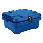 Cambro 240MPC186 Camcarrier Food Pan Carrier - (1)Half Size Pan, Navy Blue