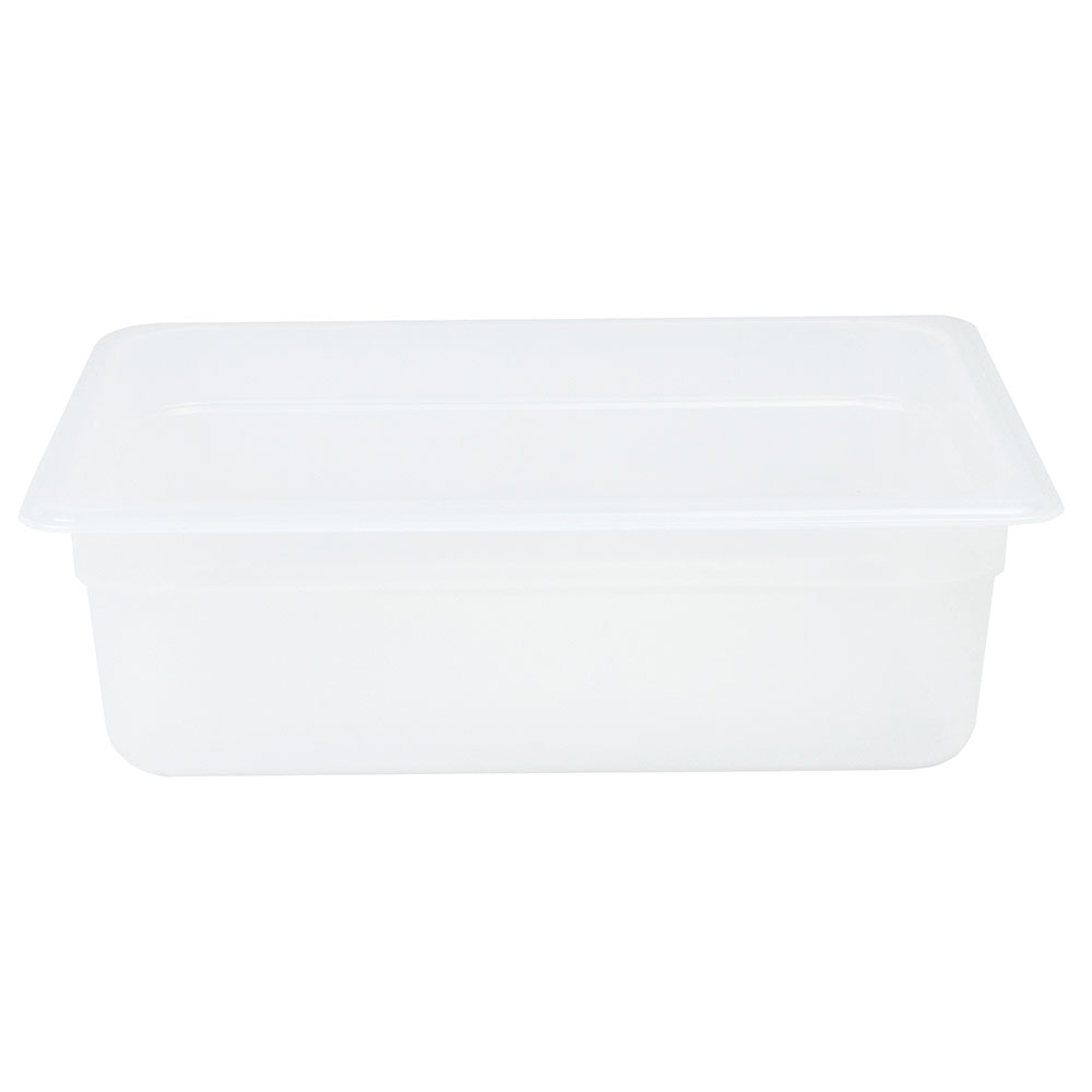"Cambro 24PP190 Food Pan - Half Size, 4""D, Translucent"