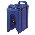 Cambro 250LCD186 2-1/2-gal Camtainer Beverage Carrier - Insulated, Navy Blue