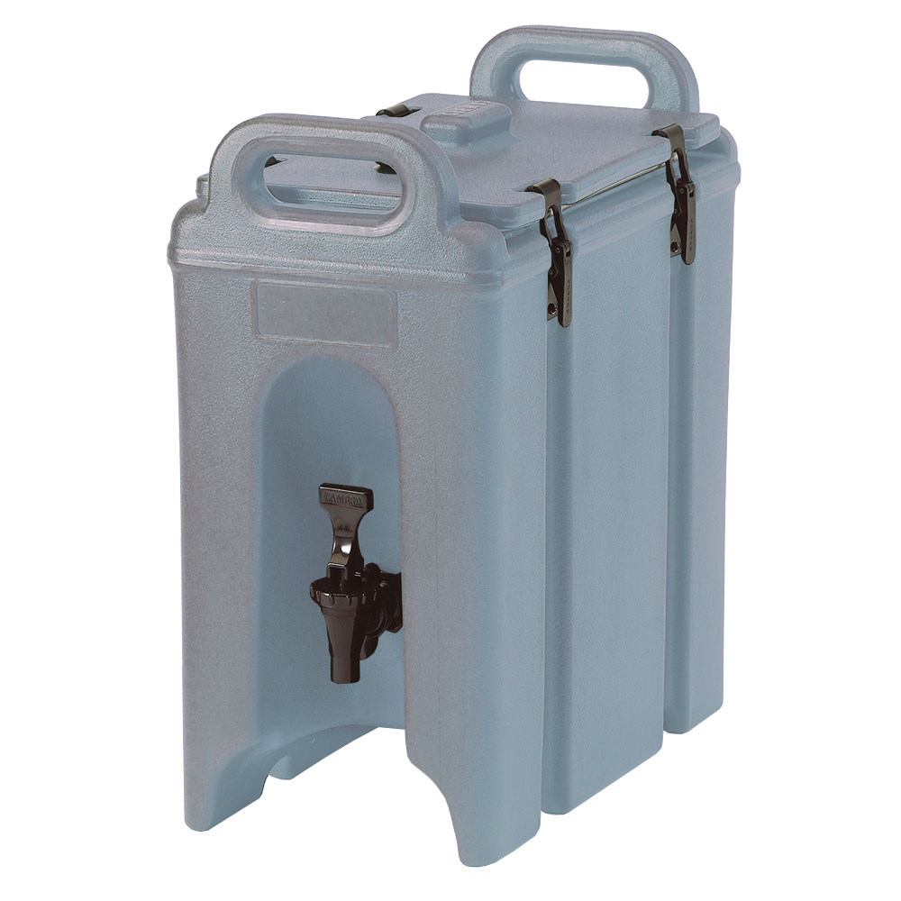 Cambro 250LCD401 2-1/2-gal Camtainer Beverage Carrier - Insulated, Slate Blue