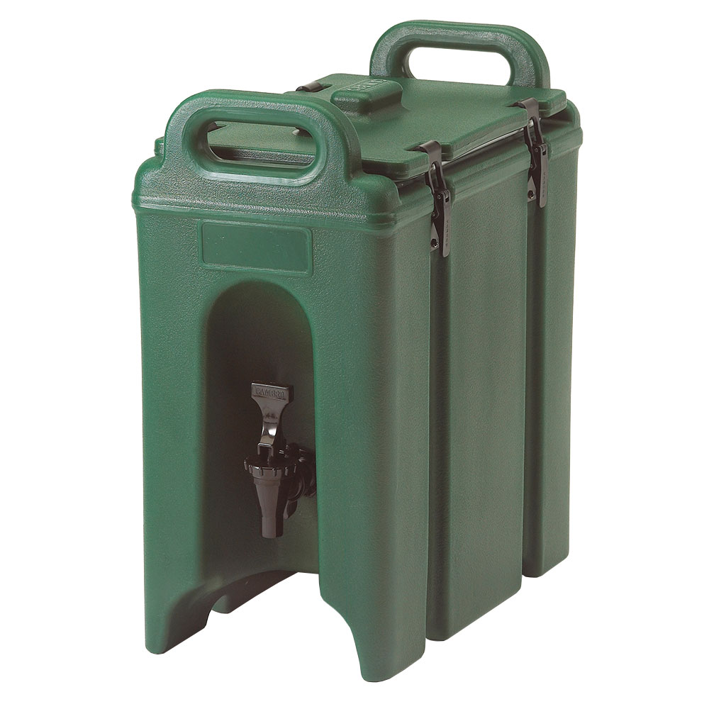 Cambro 250LCD519 2-1/2-gal Camtainer Beverage Carrier - Insulated, Green