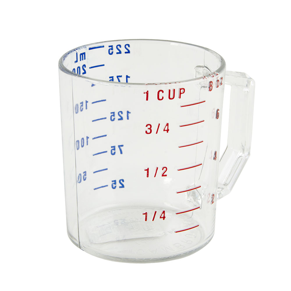 Cambro 25MCCW135 1-cup Camwear Measuring Cup - Clear
