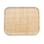 Cambro 2632204 Rectangular Camtray - 26.5x32.5cm, Rattan