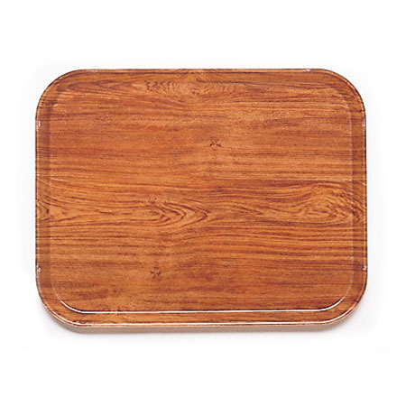 Cambro 2632309 Rectangular Camtray - 26.5x32.5cm, Java Teak