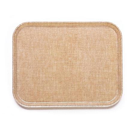 Cambro 2632329 Rectangular Camtray - 26.5x32.5cm, Linen Toffee