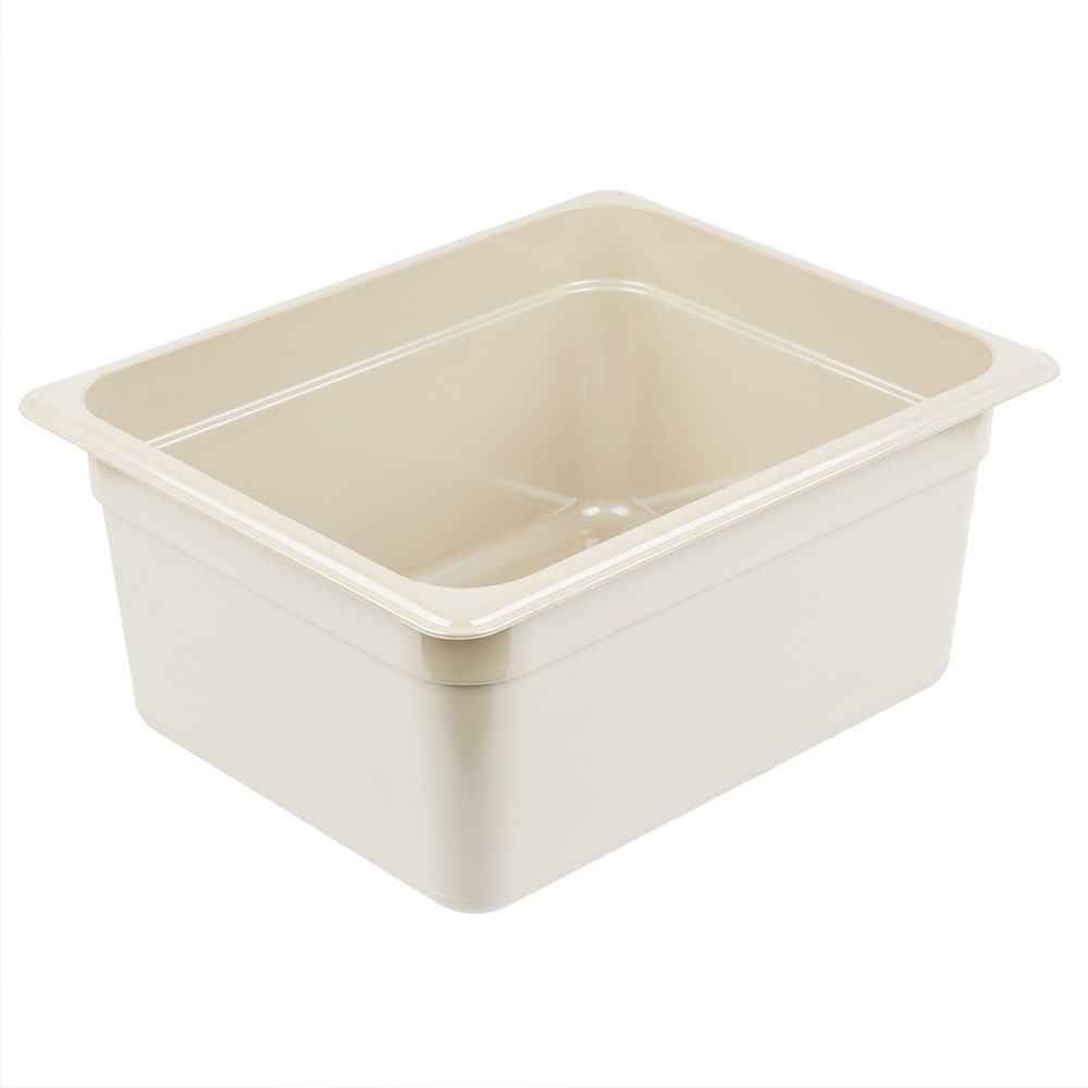 "Cambro 26HP772 X-Pan Hot Food Pan - Half Size, Non-Stick, 6""D, Sandstone"