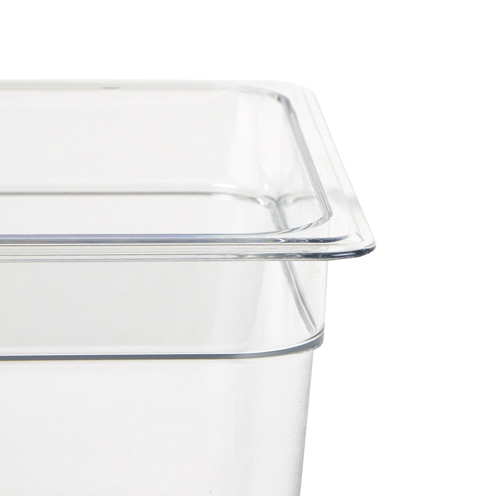 """Cambro 28CW135 Food Pan - Half Size, 8""""D, Clear"""