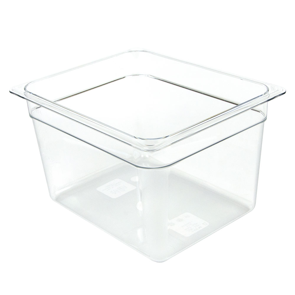 "Cambro 28CW135 Food Pan - Half Size, 8""D, Clear"