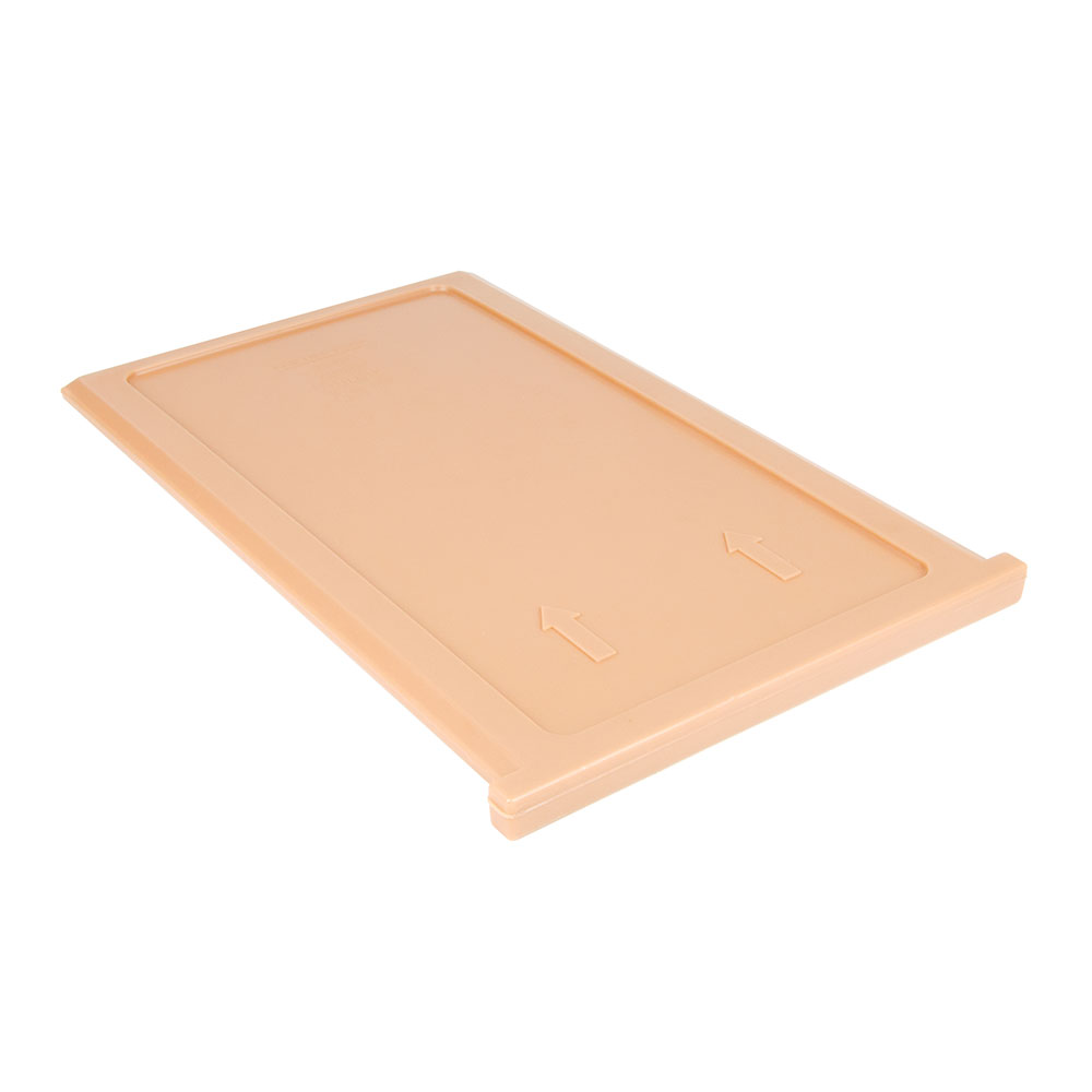 """Cambro 300DIV157 ThermoBarrier Insulated Shelf - 20-3/16x13x1"""" Coffee Beige"""