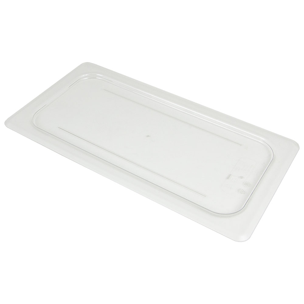 Cambro 30CWC135 Camwear Food Pan Cover - 1/3 Size, Flat, Clear