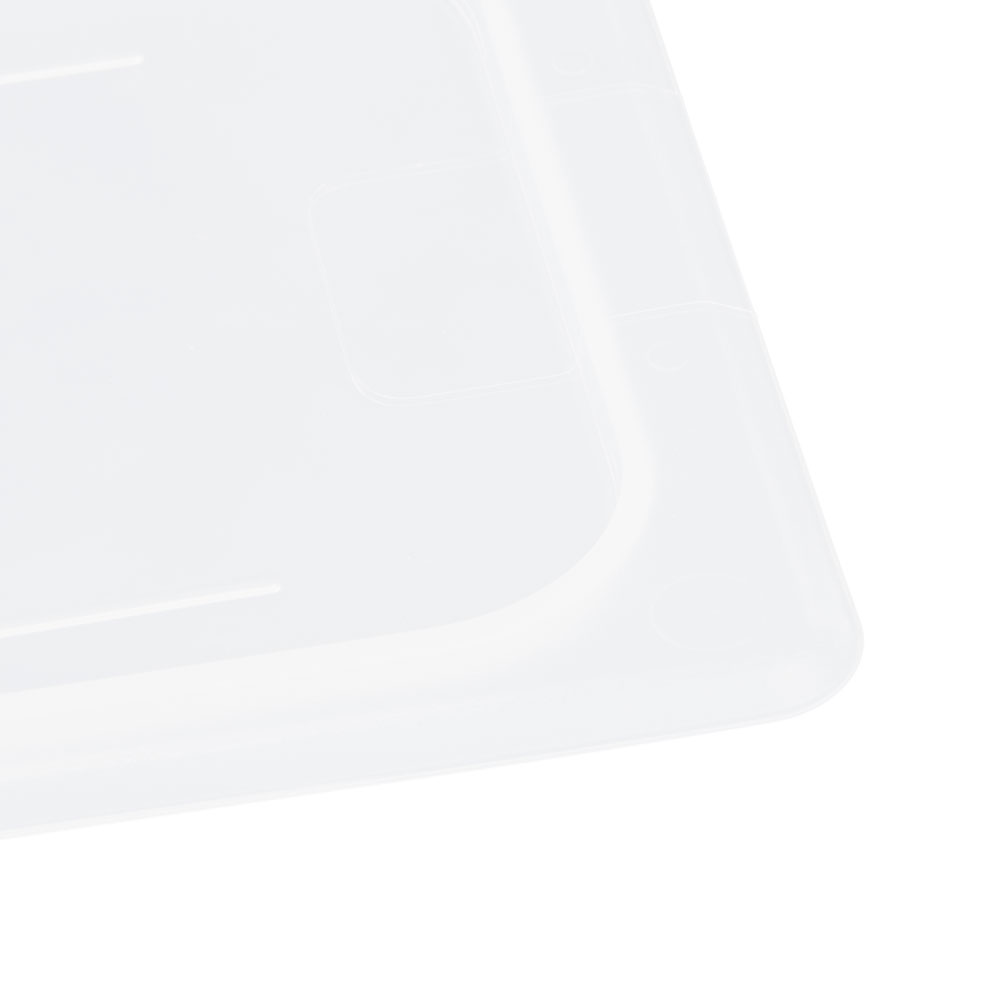 Cambro 30PPCH190 Food Pan Cover with Handle - 1/3 Size, Translucent
