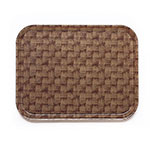 Cambro 3253301 Rectangular Camtray - 32.5x53cm, Dark Basketweave