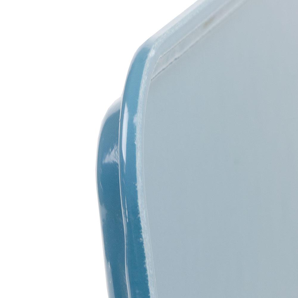 """Cambro 3253CL674 Rectangular Camlite Tray - 12-3/4x21"""" Steel Blue"""