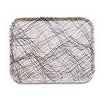 Cambro 3343277 Rectangular Camtray - 33x43cm, Swirl Gray