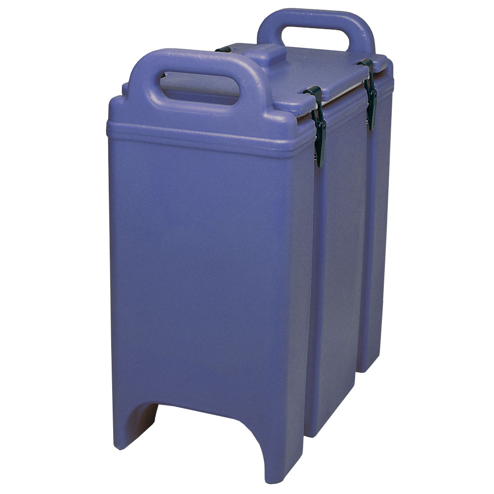 Cambro 350LCD186 3-3/8-gal Camtainer Soup Carrier - Insulated, Navy Blue