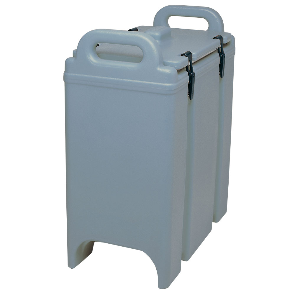 Cambro 350LCD401 3-3/8-gal Camtainer Soup Carrier - Insulated, Slate Blue