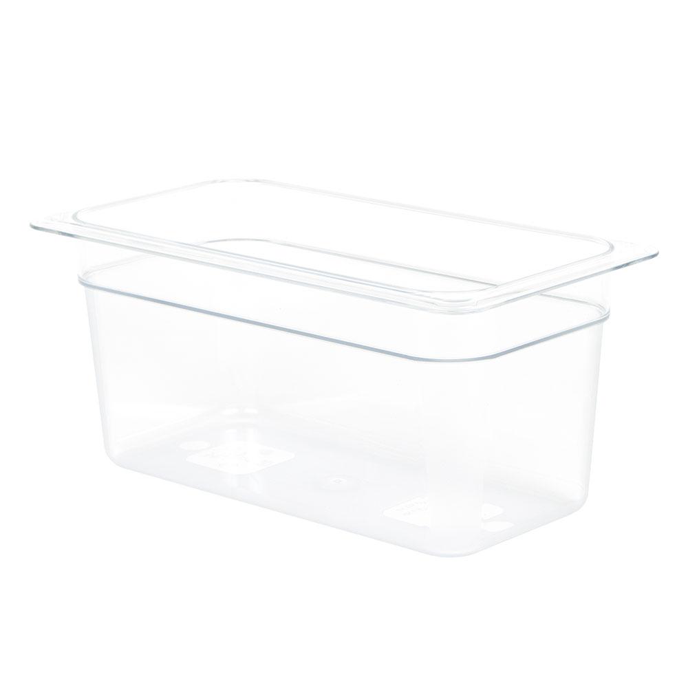 "Cambro 36CW135 Camwear Food Pan - 1/3 Size, 6""D, Clear"