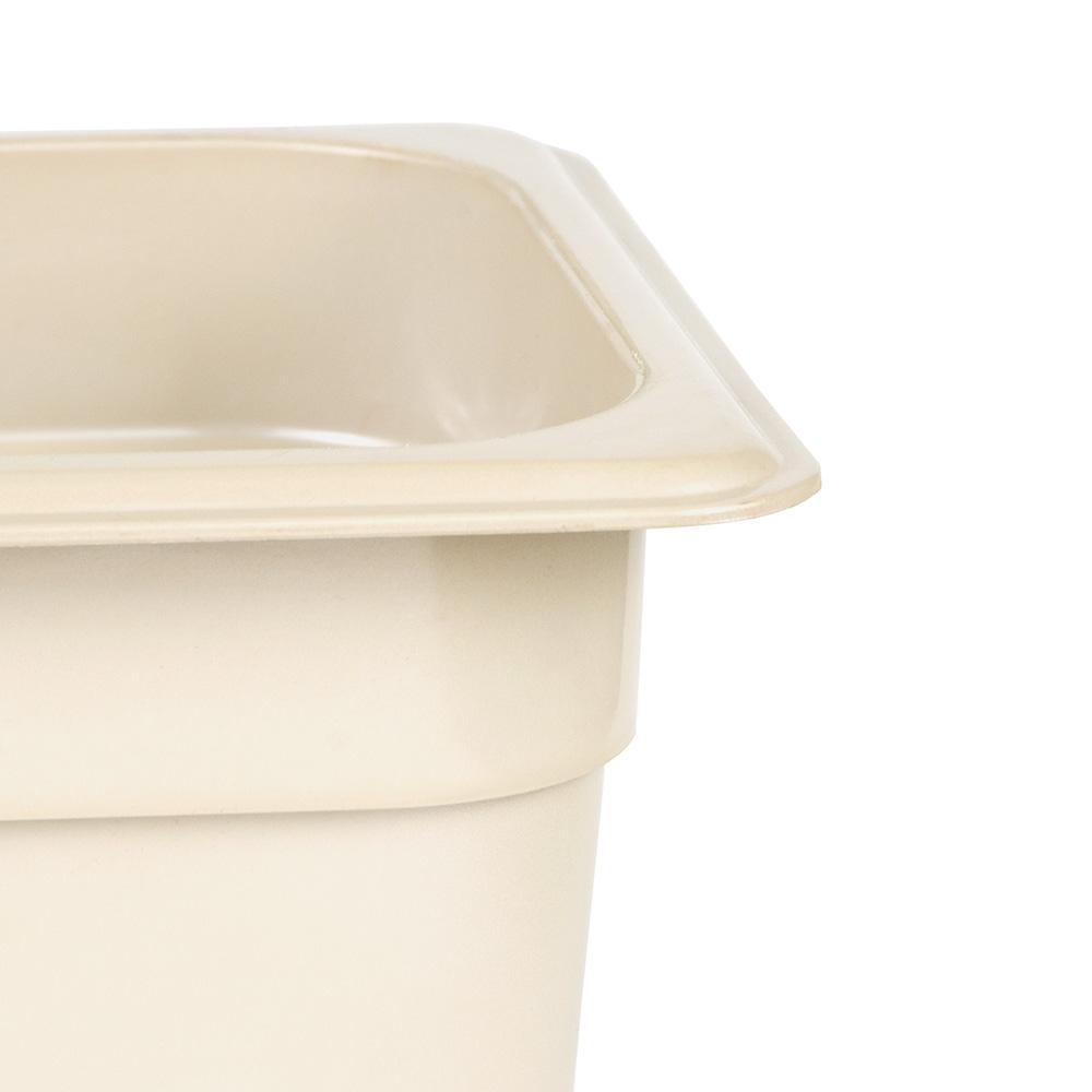 "Cambro 36HP772 X-Pan Hot Food Pan - 1/3 Size, 6""D, Non-stick, Sandstone"