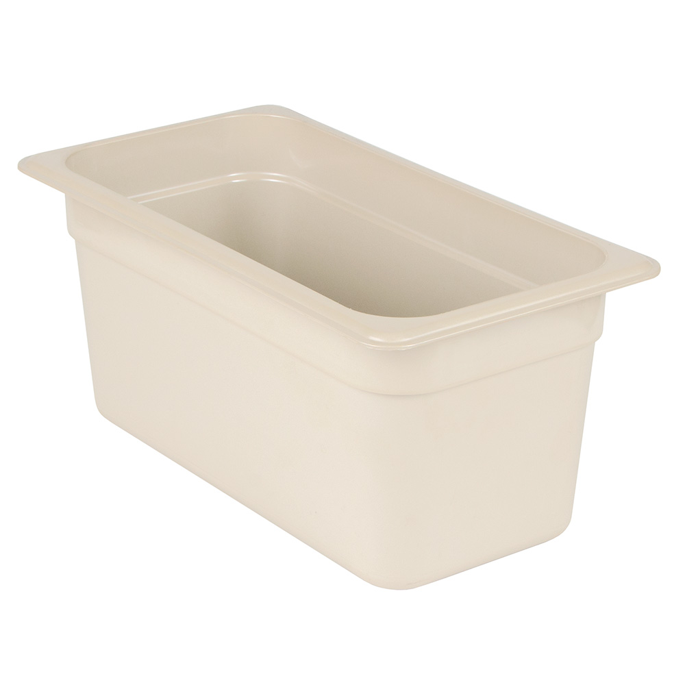 "Cambro 36HP772 X-Pan Hot Food Pan - 1/3 Size, 6""D, Non-stick, Sandstone"