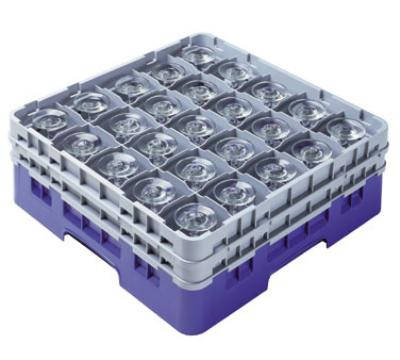 Cambro 36S800163 Camrack 36 Compartments 8-1/2 High 2-7/8 in D Red NSF Restaurant Supply