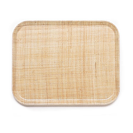 Cambro 3853204 Rectangular Camtray - 37.5x53cm, Rattan