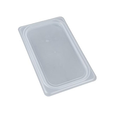 Cambro 40PPCWSC190 Fourth-Size Food Pan Seal Cover - Plastic, Translucent