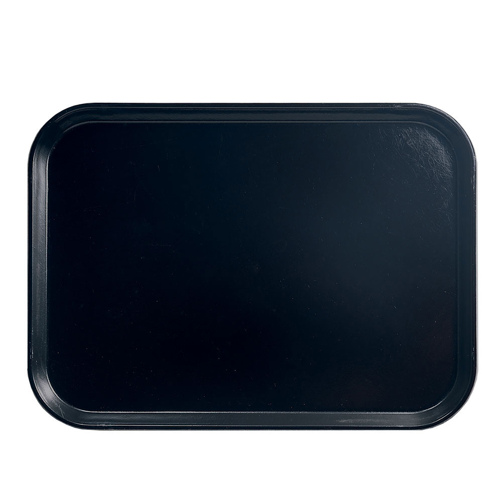"Cambro 46110 Rectangular Camtray - 4-1/4 x 6"" Black"