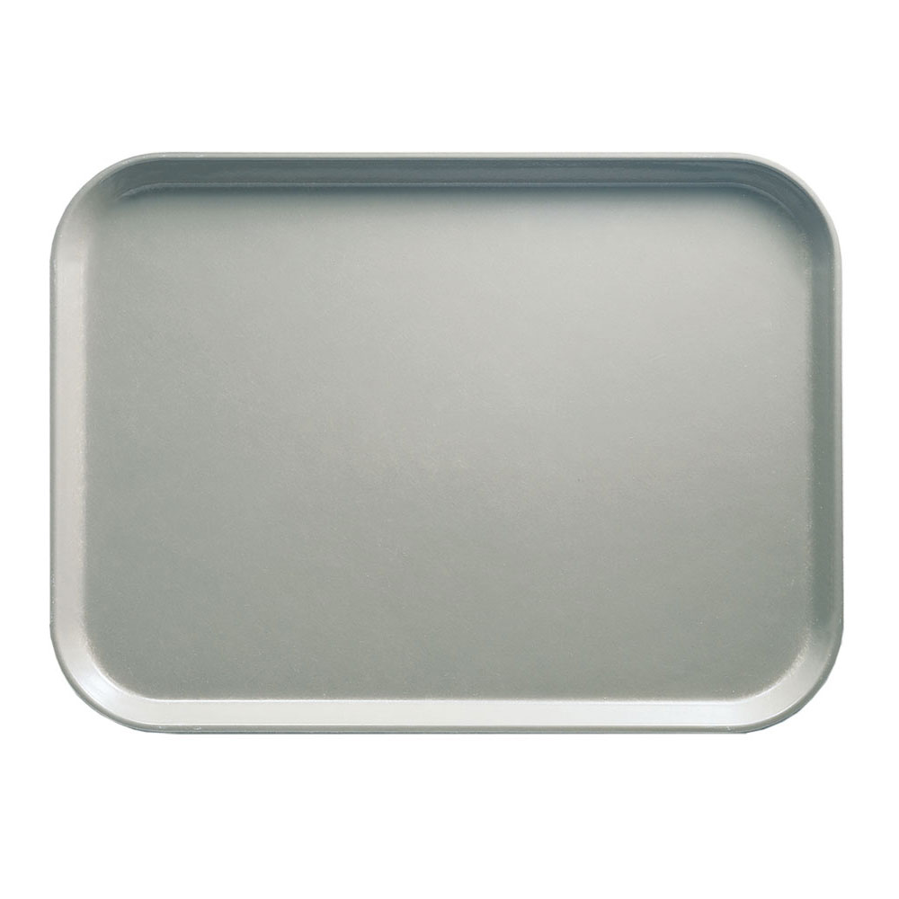 "Cambro 46199 Rectangular Camtray - 4-1/4 x 6"" Taupe"