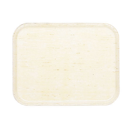 "Cambro 46203 Rectangular Camtray - 4-1/4 x 6"" Decorator Grass Mat"
