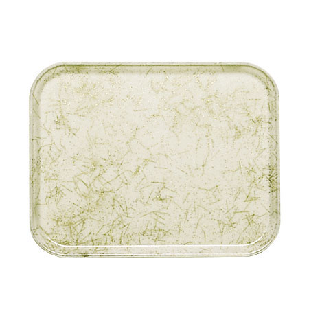 "Cambro 46526 Rectangular Camtray - 4-1/4 x 6"" Galaxy Antique Parchment Gold"