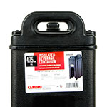 Cambro 500LCD110 5-gal Camtainer Beverage Carrier - Insulated, Black
