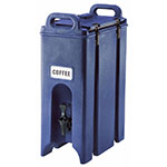 Cambro 500LCD186 5-gal Camtainer Beverage Carrier - Insulated, Navy Blue