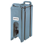 Cambro 500LCD401 5-gal Camtainer Beverage Carrier - Insulated, Slate Blue
