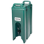 Cambro 500LCD519 5-gal Camtainer Beverage Carrier - Insulated, Green