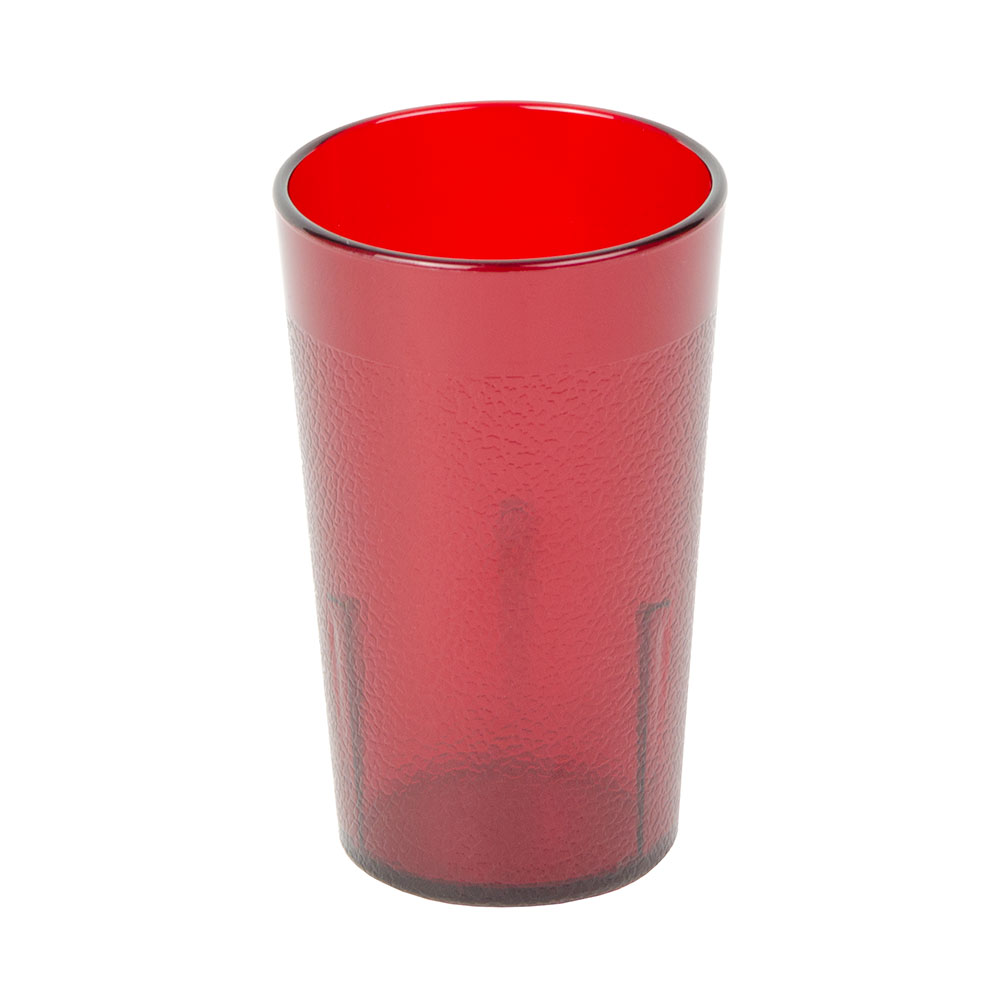 Cambro 500P156 5.2-oz Colorware Tumbler - Ruby Red