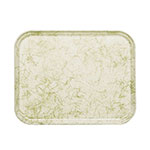 "Cambro 57526 Rectangular Camtray - 5x7"" Galaxy Antique Parchment Gold"