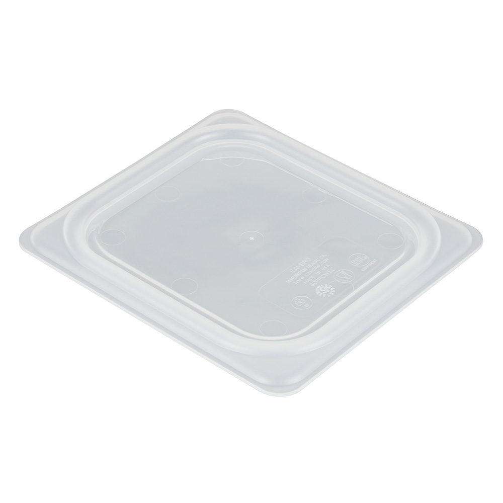 Cambro 60PPCWSC190 Sixth-Size Food Pan Seal Cover - Plastic, Translucent