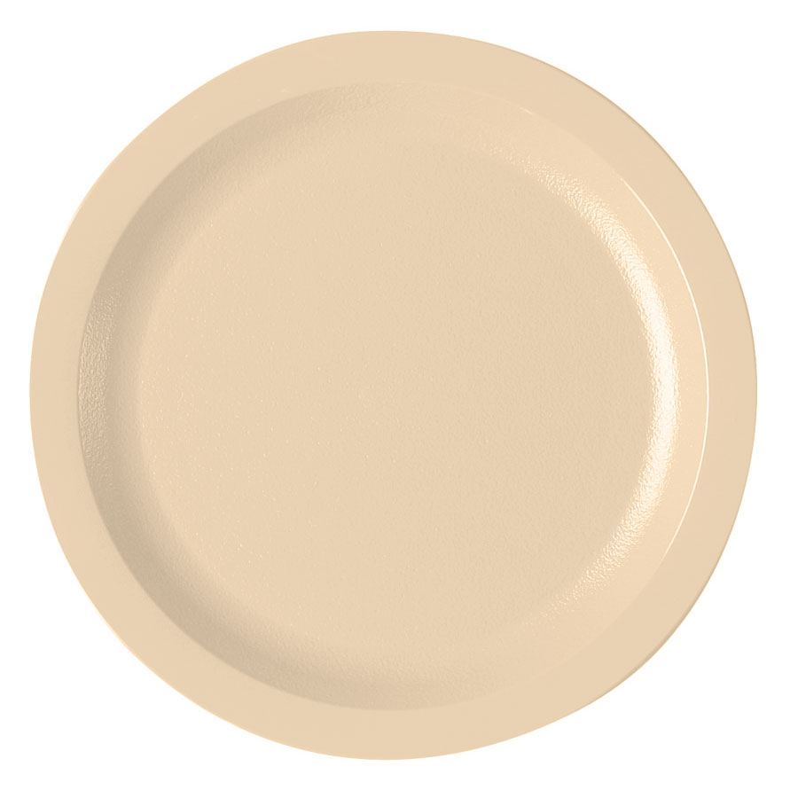 "Cambro 725CWNR133 7-1/4"" Camwear Plate - Beige"