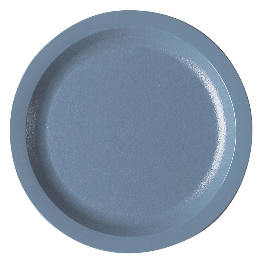 "Cambro 725CWNR401 7-1/4"" Camwear Plate - Slate Blue"