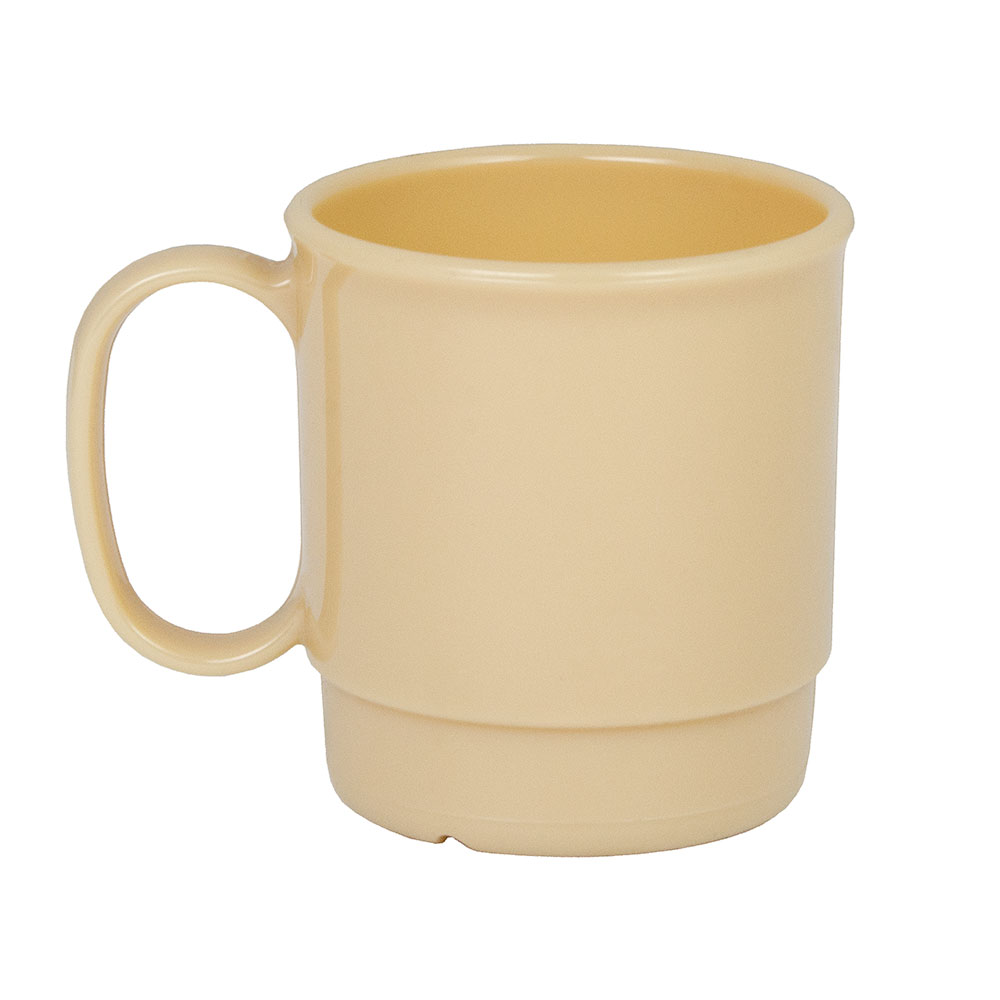 Cambro 75CW133 7-1/2-oz Camwear Cup - Stacking, Beige