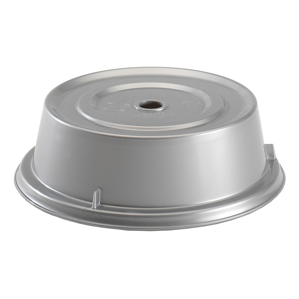 """Cambro 905CW486 9-1/2"""" Round Camwear Plate Cover - Silver"""