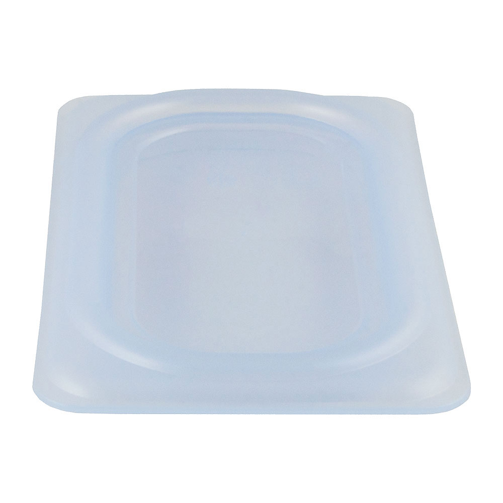 Cambro 90PPCWSC438 1/9-Size Food Pan Seal Cover - Translucent, Polypropylene, Blue, NSF
